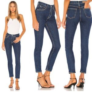 NWT GRLFRND Karolina High Rise Jeans Afterglow